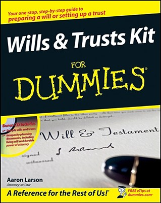 Wills & Trusts Kit For Dummies By Larson, Aaron